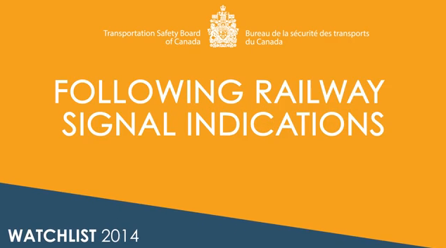 Image from the following railway signal indications